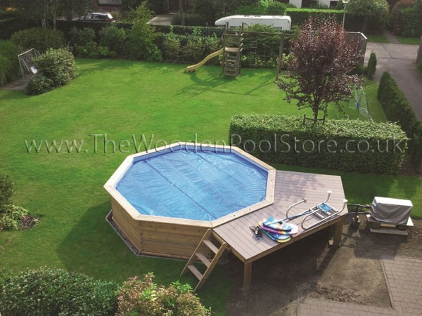 Luxury Octoo Wooden Pools - inc Solar Cover