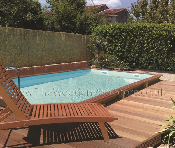 Luxury Quartoo 3m x 5m Wooden Pool