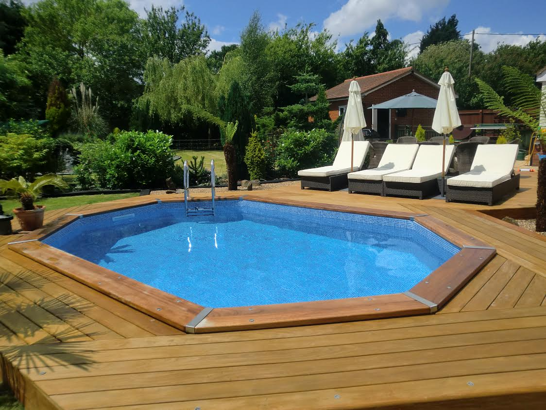 Endless Summer Wooden Pools in 3 sizes