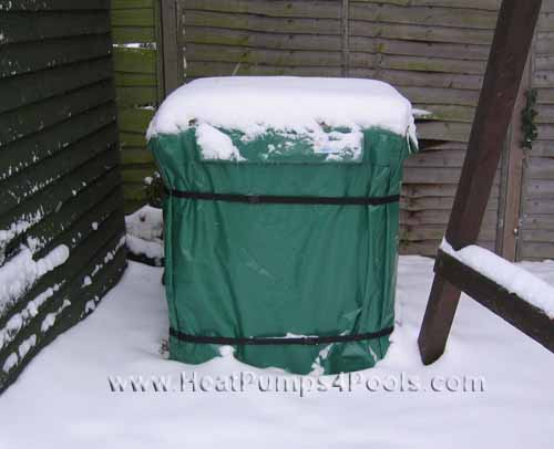 Swimmimg Pool Heat Pump Winter Cover (made to measure)