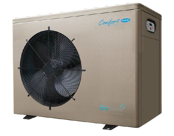 Summer Use Heat Pump for Wooden Pools