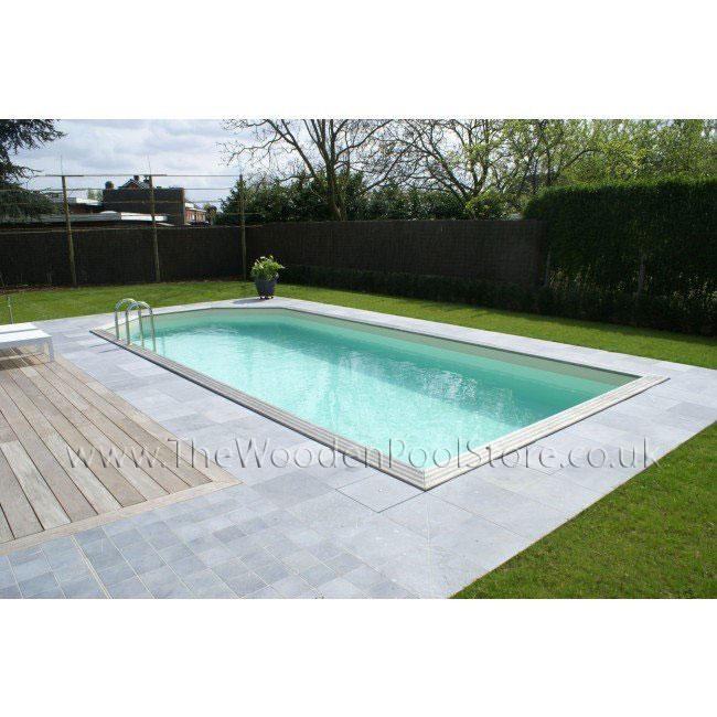 GardiPool Rectoo Wooden Pools