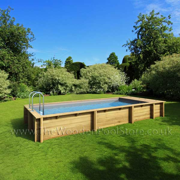 The Pool N Box 6m X 2 5m Wooden Pool The Wooden Pool Store