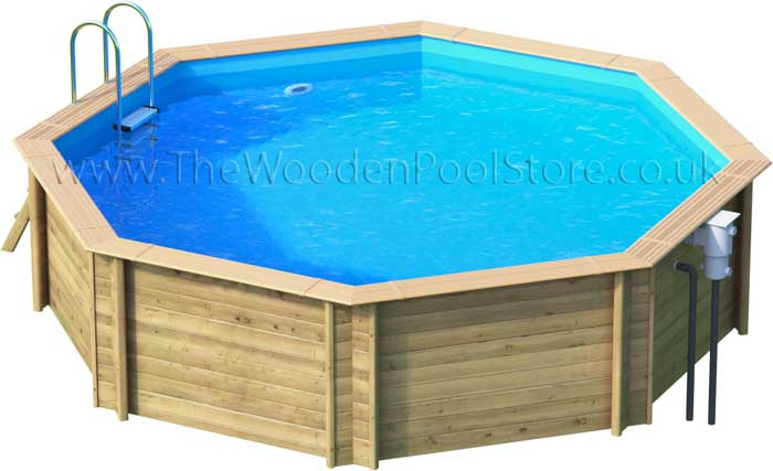 Odyssea Octo 530 wooden pools above or in ground