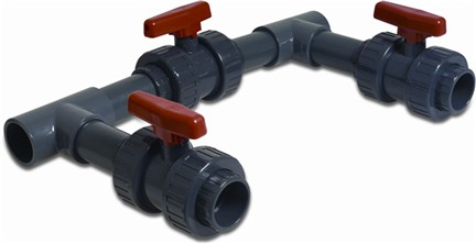 63mm Bypass Kit for Heat Pumps (Grey)