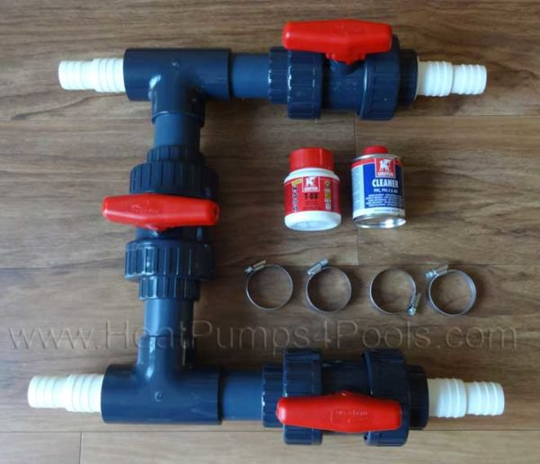 """1.5""""/50mm Bypass Kit for Above Ground Pools"""