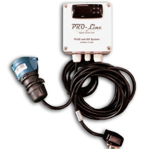 Pro-Line 2kw/3kw Drop In Electric Pool Heater with Digital Thermostat