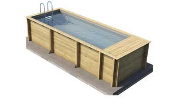pool'n box wooden pool