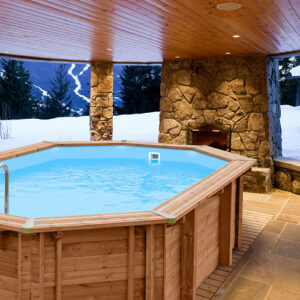 Blue Lagoon Wooden Pool