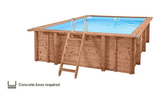 Summer Oasis Wooden Pool