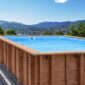 Summer Oasis Wooden Pool